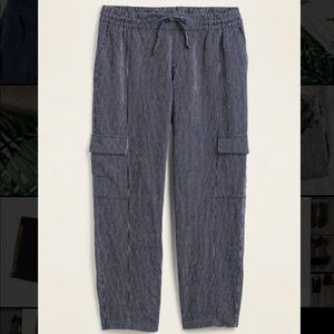 Pinstriped Cargo Pants